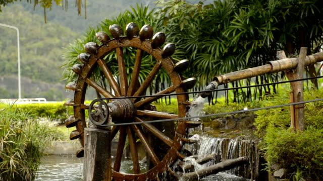 water wheel - full hd format stock videos & royalty-free footage