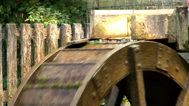 water wheel - mill stock videos & royalty-free footage
