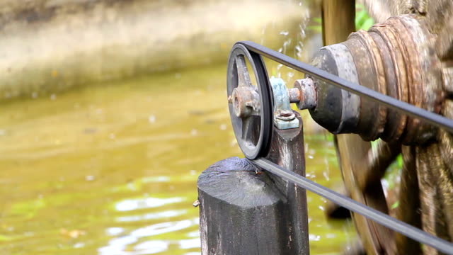 water wheel - watermill stock videos and b-roll footage