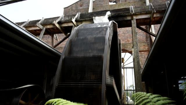 water wheel - water wheel stock videos and b-roll footage