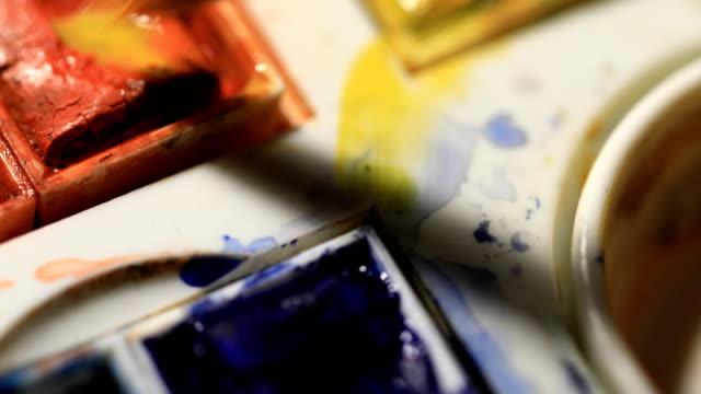 Watercolor Pallet