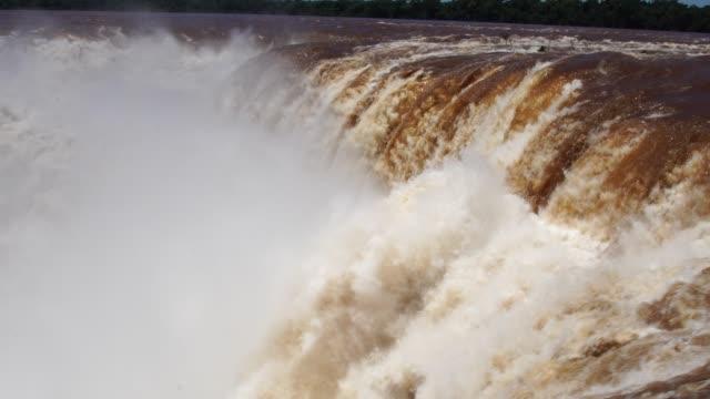 vídeos y material grabado en eventos de stock de fondo de cascada - cataratas del iguazú