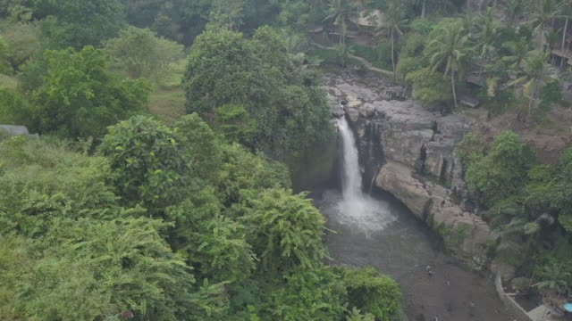 waterfall / bali, indonesia - indonesia stock videos & royalty-free footage