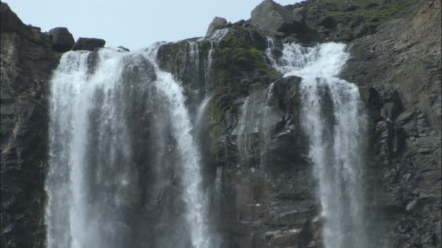 waterfall, changbaishan national nature reserve, jilin province, china - bbc stock videos and b-roll footage