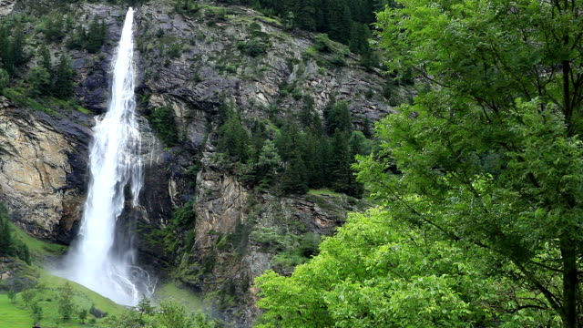 waterfall fallbach; austria - mpeg video format stock videos & royalty-free footage