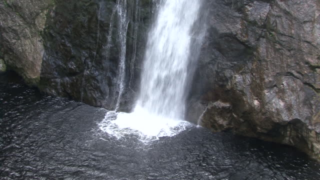waterfall - falls at foyers - valley stock videos & royalty-free footage