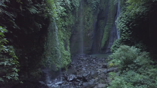 waterfall in bali / indonesia - indonesia stock videos & royalty-free footage