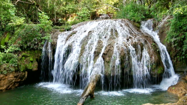 waterfall in bonito, mato grosso do sul - continuity stock videos & royalty-free footage