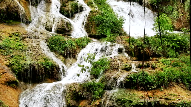 waterfall in bonito, mato grosso do sul - brazil stock videos & royalty-free footage