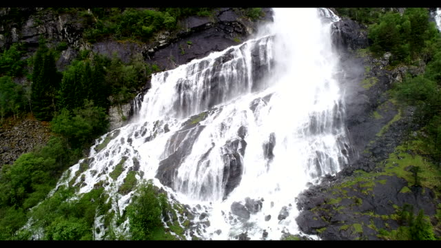 waterfall in  fjord norway - melting stock videos & royalty-free footage