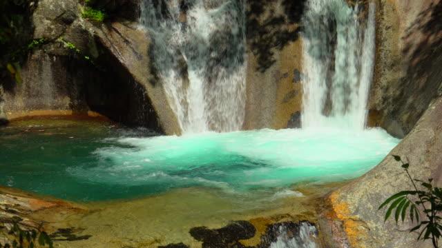 緑の森の滝/西沢渓谷 - waterfall点の映像素材/bロール
