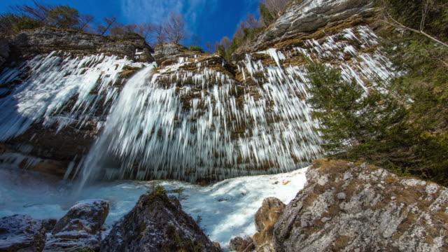 T/L 8K Waterfall in Julian Alps