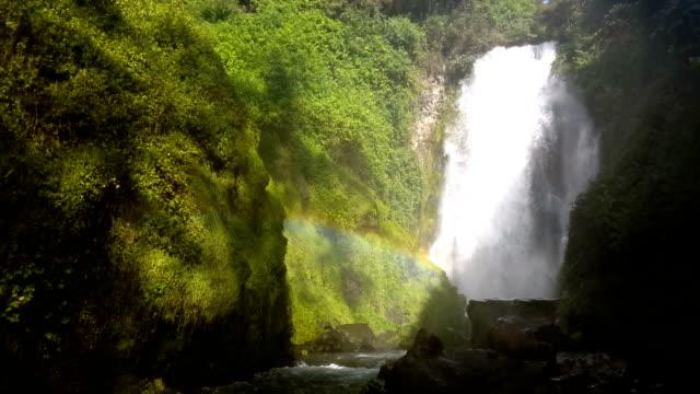 waterfall in otavalo ecuador