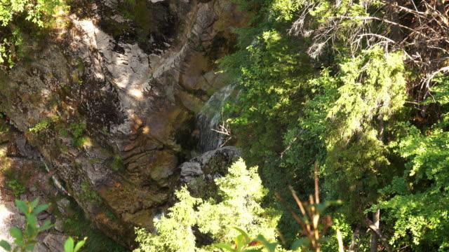 stockvideo's en b-roll-footage met waterval in de bergen - lower austria