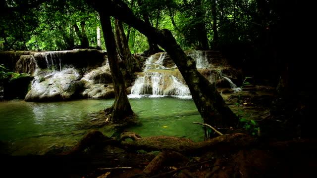 Wasserfall in den Regenwald