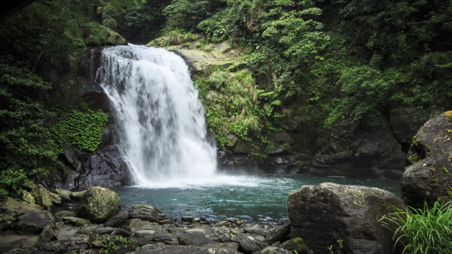 Waterfall in Valley of Wulai