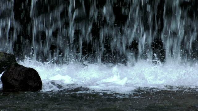 vídeos y material grabado en eventos de stock de cascada, cámara lenta - catarata