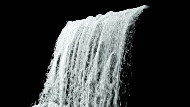 Waterfall texture loop 4K