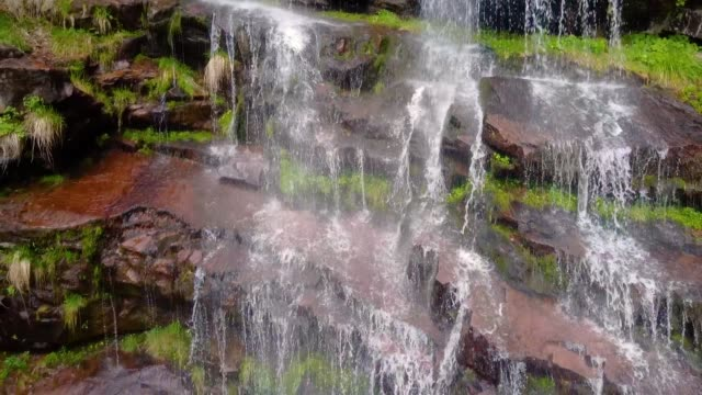waterfall - moss stock videos & royalty-free footage