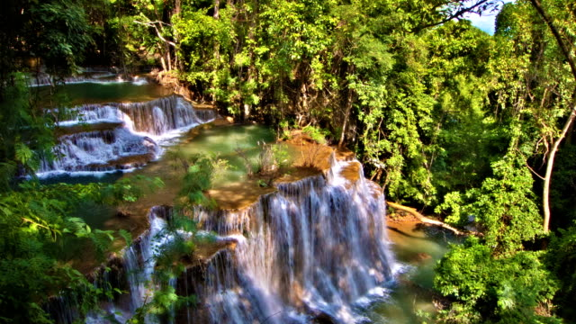 waterfall - county durham stock videos & royalty-free footage
