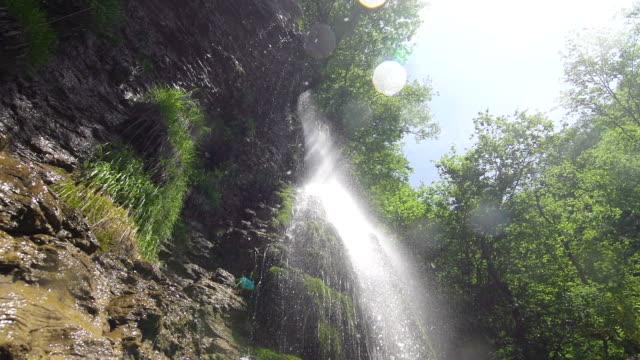 Wasserfall Super-Zeitlupe
