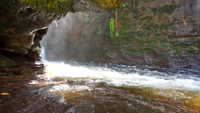 Waterfalls of Amazon river