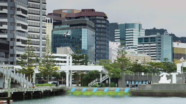 Waterfront and Downtown Buildings, Wellington