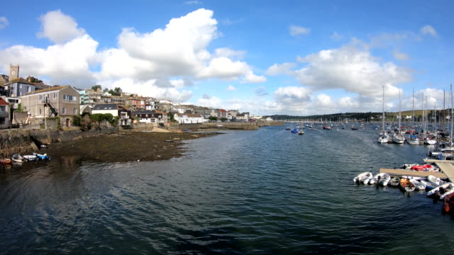 waterfront - falmouth, england - prince of wales stock videos & royalty-free footage