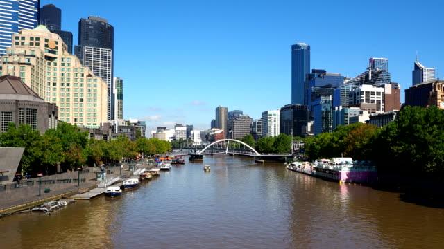 waterfront - melbourne, australien - digitale verbesserung stock-videos und b-roll-filmmaterial