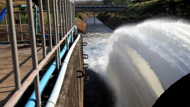 Watergate is draining some water from dam