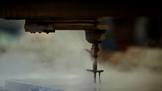 waterjet - metal stock videos & royalty-free footage