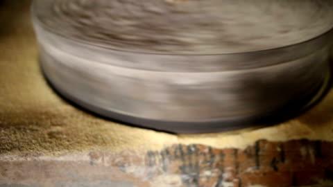 stockvideo's en b-roll-footage met watermolen - verwerkingsfabriek