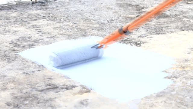 waterproofing - cement stock videos & royalty-free footage