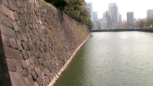 水の皇居周辺エリア(アナモルフィック dv - 日本の皇室点の映像素材/bロール
