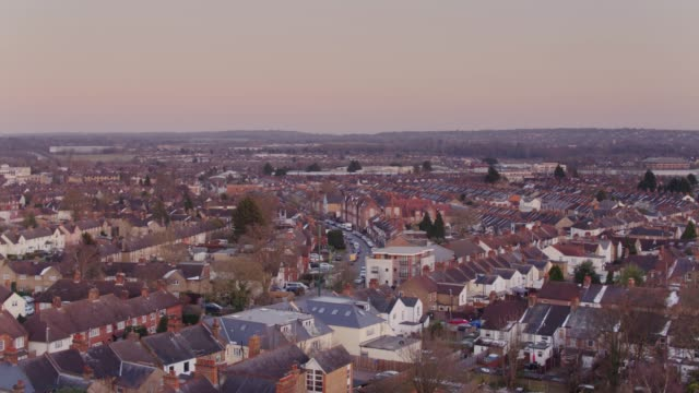 watford, uk from above - suburban stock videos & royalty-free footage