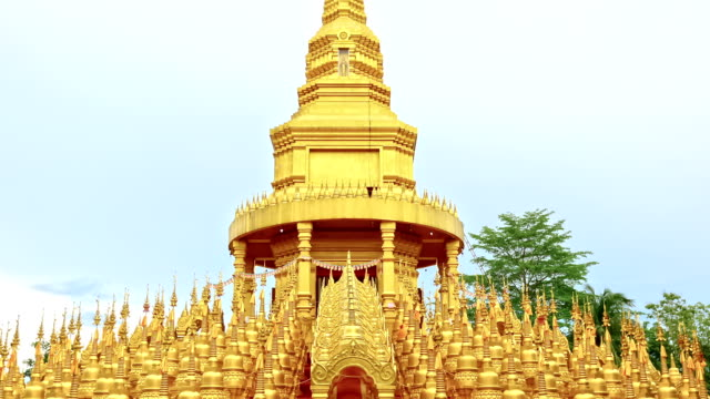 watpasawangboon pagoda thailand - sa pa stock videos and b-roll footage