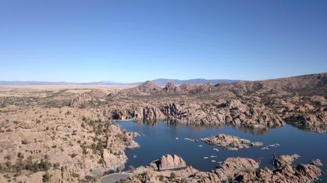watson lake in prescott arizona - prescott arizona stock videos & royalty-free footage