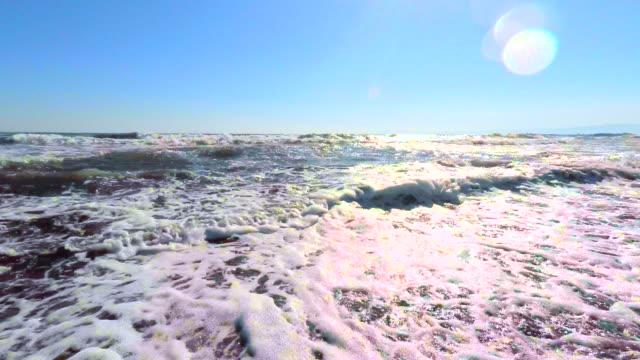 Onda sulla spiaggia - 4 k