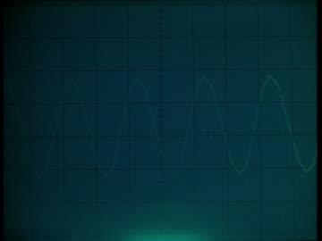 bcu waveform monitor flashing sine wave - human internal organ stock videos & royalty-free footage