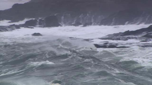 vídeos y material grabado en eventos de stock de waves and seacliffs - artbeats