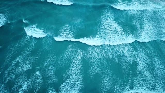 waves approach the coatline - atlantic ocean stock videos & royalty-free footage