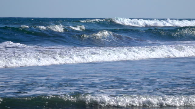 waves at the ocean - plusphoto stock videos & royalty-free footage