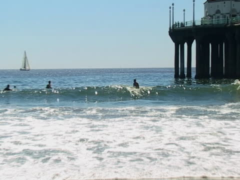 Wellen-Kurzurlaub in Manhattan Beach