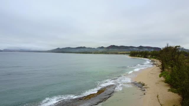 waves crashing on beautiful tropical beach - fatcamera stock videos & royalty-free footage