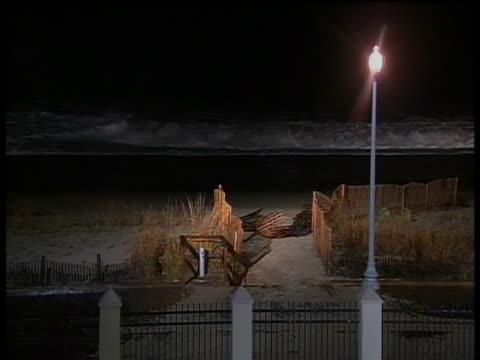 ws waves crashing on dewey beach de before hurricane sandy - sea grass plant stock videos & royalty-free footage