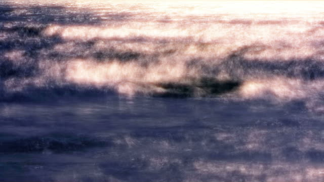 waves ease in like a moving photograph. - digital enhancement stock videos & royalty-free footage