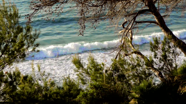 HD: Waves in a Mallorca beach
