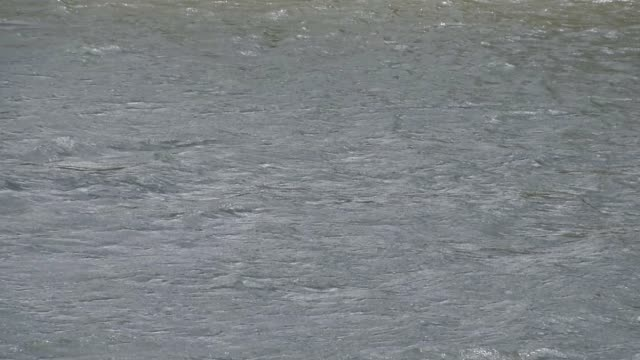 waves in the river - restlessness stock videos and b-roll footage