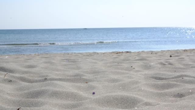 vídeos y material grabado en eventos de stock de olas de arena - plano descripción física