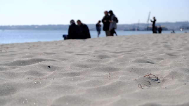 waves of sand - sand stock videos & royalty-free footage